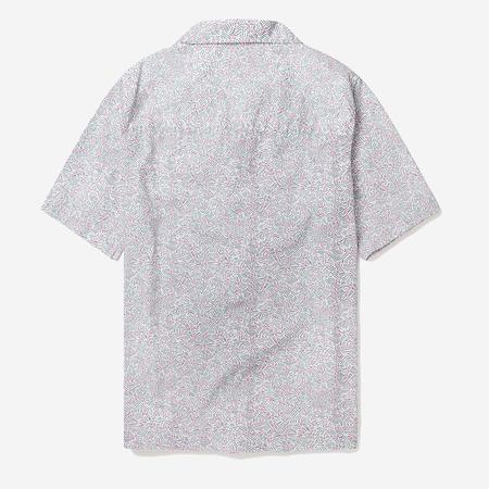 Albam Utility Zig Zag Vacation Shirt - White