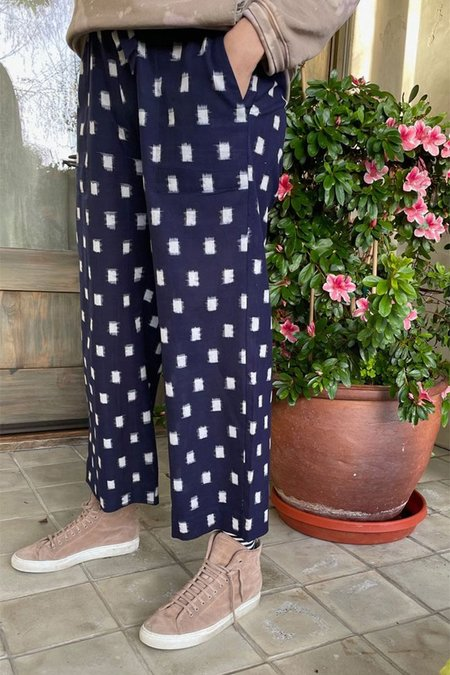 Two New York Wide Leg Pant - Navy