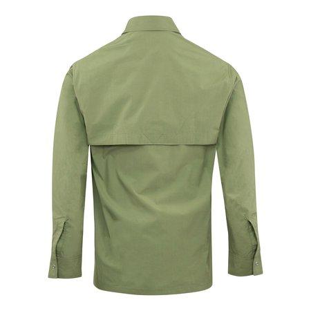 Kenzo Tiger Pocket Cotton Overshirt - Olive