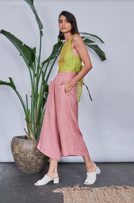 RUJUTA SHETH Modern Pants - Blush