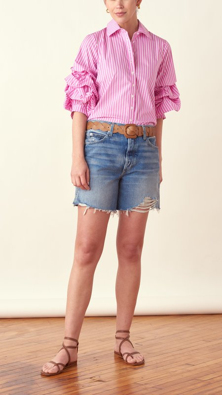 THE SHIRT BY ROCHELLE BEHRENS The Seville Shirt - pink