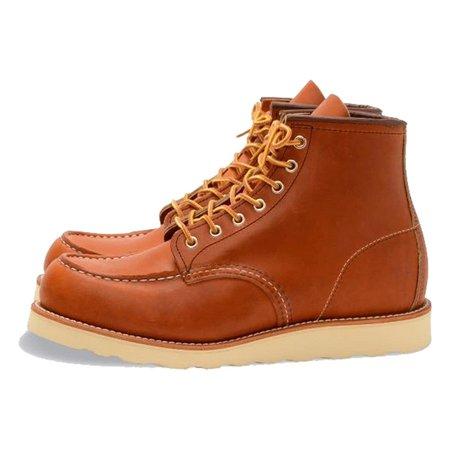 Red Wing Shoes CLASSIC MOC STYLE NO. 875 ORO LEGACY LEATHER shoes - brown