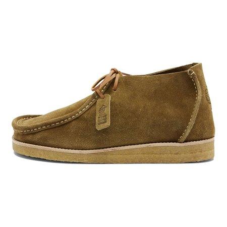 Yogi Footwear YOGI X HIKERDELIC ERIC SUEDE CHUKKA BOOT - MOSS GREEN