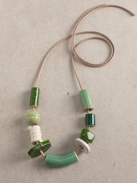 The Pursuits of Happiness OOAK Bead B Set Necklace - Multi