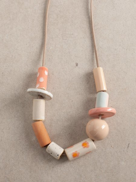 The Pursuits of Happiness OOAK Bead D Set Necklace - Multi