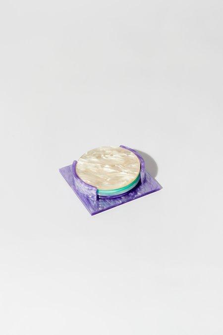 Aeyre Coaster Set - Purple