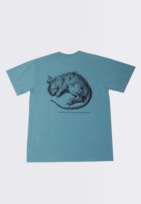 Powers Vermin T-Shirt - dusty emerald