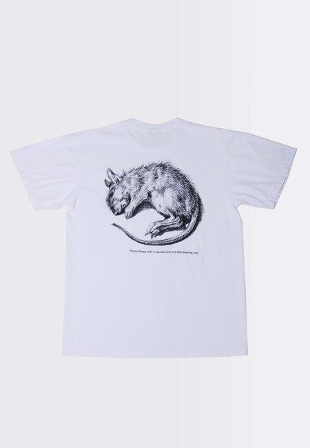 Powers Vermin T-Shirt - white