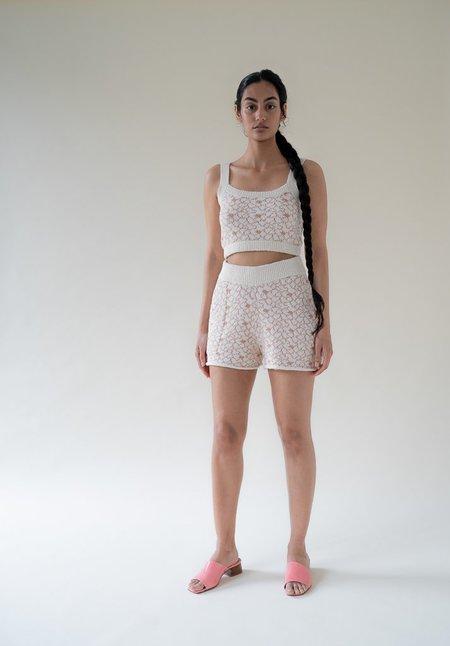 Ajaie Alaie Bouquet Shorts - Claro