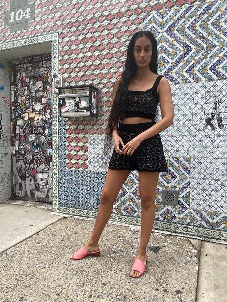 Ajaie Alaie Bouquet Shorts - Oscuro