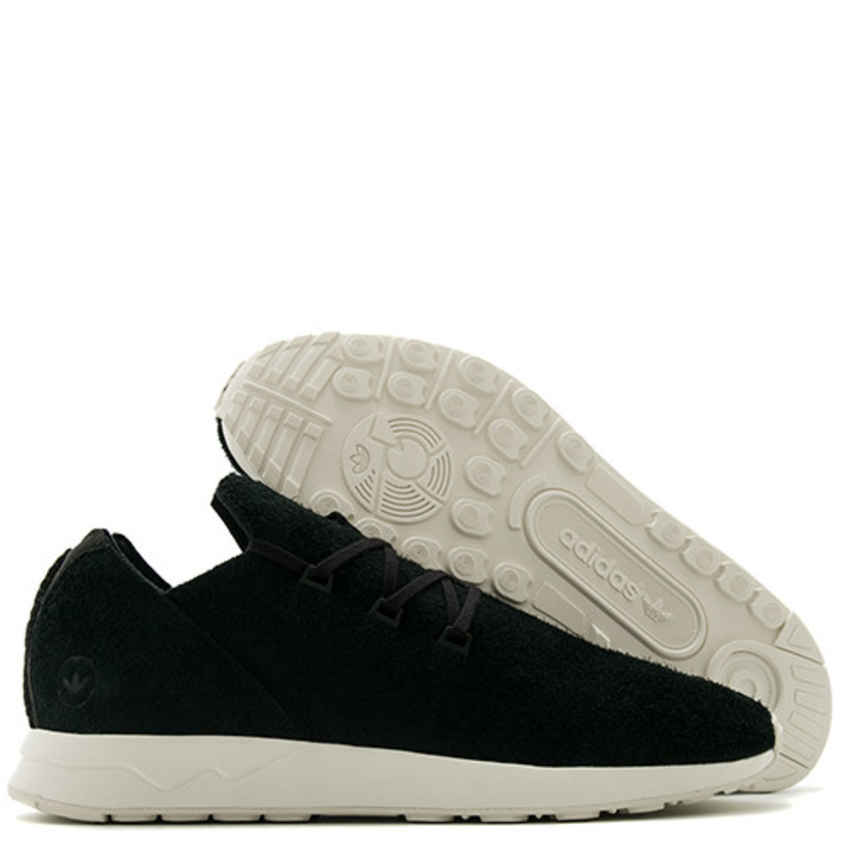 info for 38a86 50cee ADIDAS BY WINGS + HORNS ZX FLUX X LEATHER - BLACK