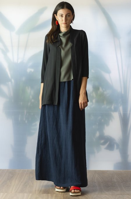 Jude Clothing Pacifica Maxi Skirt - Navy