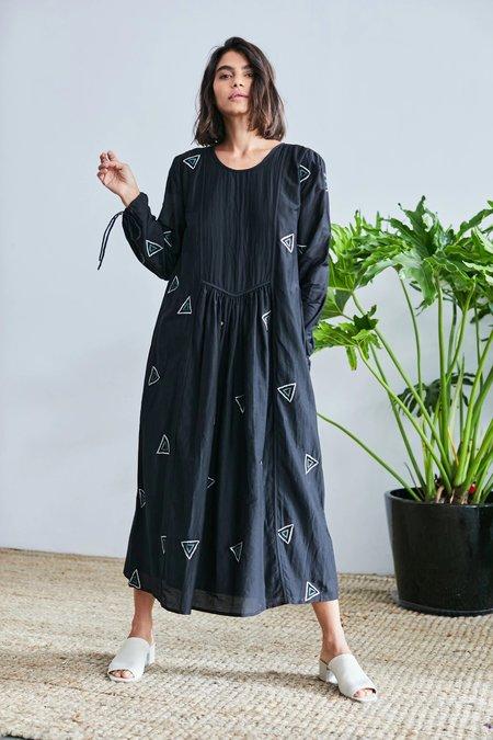 RUJUTA SHETH Tanya Dress - Black