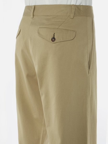 Universal Works Aston Trousers - Tan Twill
