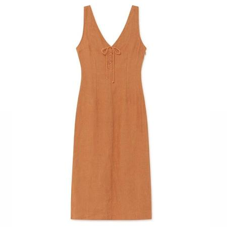 Paloma Wool Emma Dress - Faded Orange