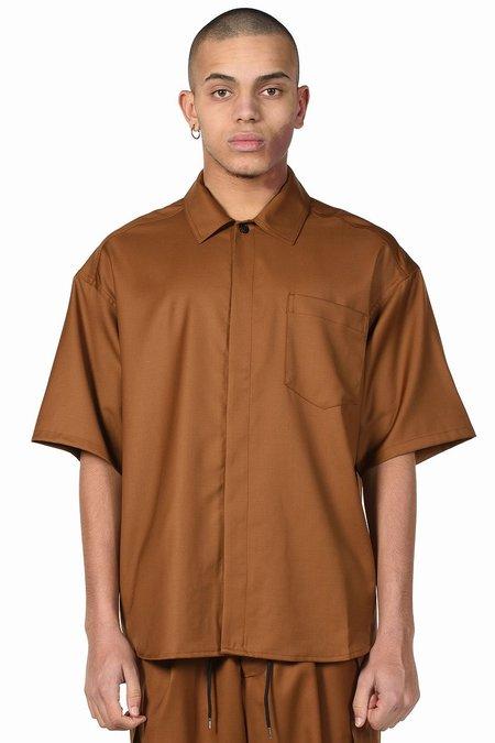 Lownn Minimal Shirt - Brown Tobacco