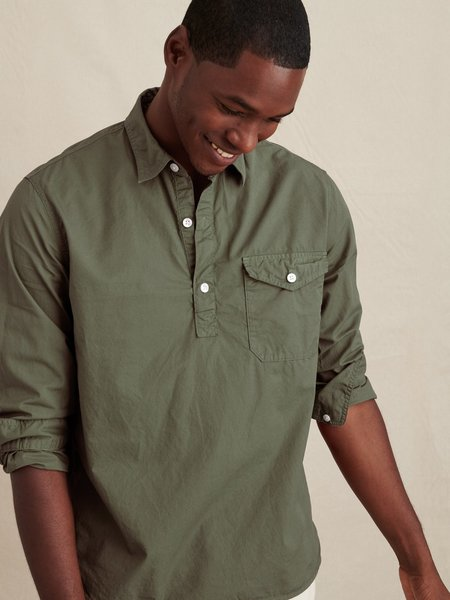 Alex Mill Popover Shirt - Dusty Olive