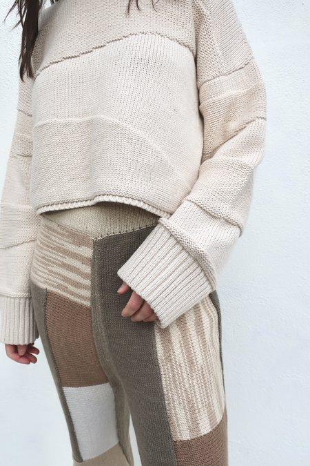 Micaela Greg Uma Pullover - Cream