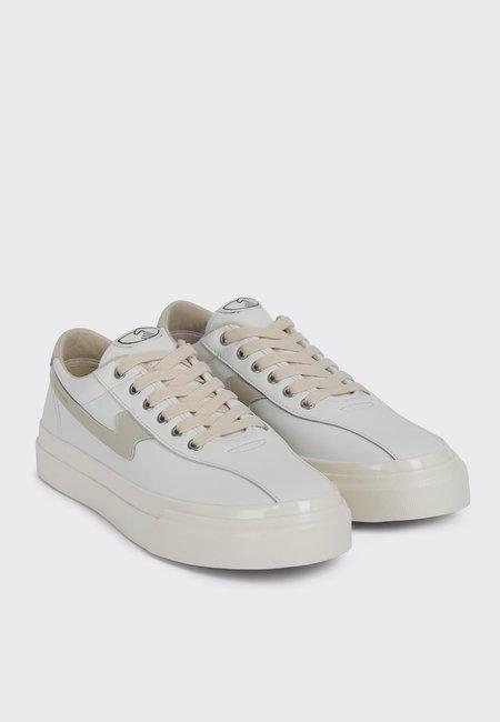 UNISEX Stepney Workers Club Dellow S Strike Leather Sneakers - White/PuttyDellow S Strike Leather - white/putty