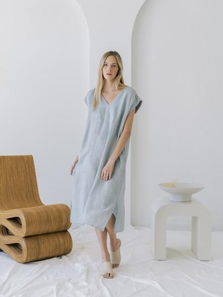 LAUDE the Label Wynne Dress - Coastal Fog
