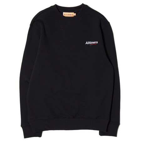 ALLTIMERS ESTATE LOGO CREW - BLACK