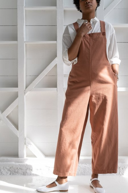 Reliquary THE OVERALL jumpsuit - RUST