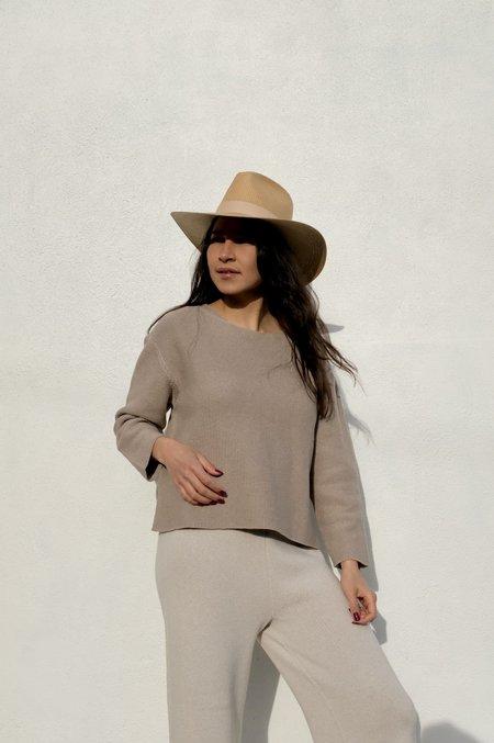 Janessa Leone Hamilton Hat - Sand