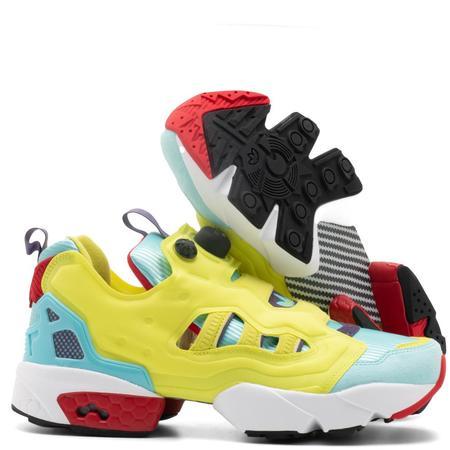 adidas A-ZX: Z - ZX Fury Pump Sneaker - Hyper Green