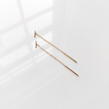 Thatch Milo Threader Earrings