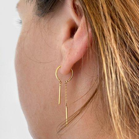 Thatch Mini Priya Threader Earrings