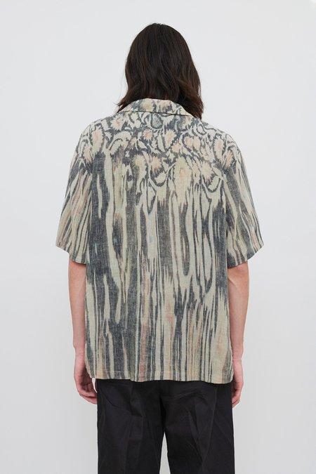 Our Legacy Short Sleeve Box Shirt - Hanabi Print