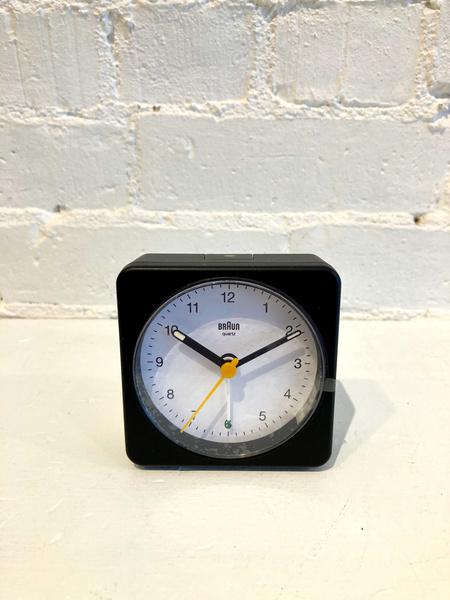 Braun Alarm Clock - White/Black