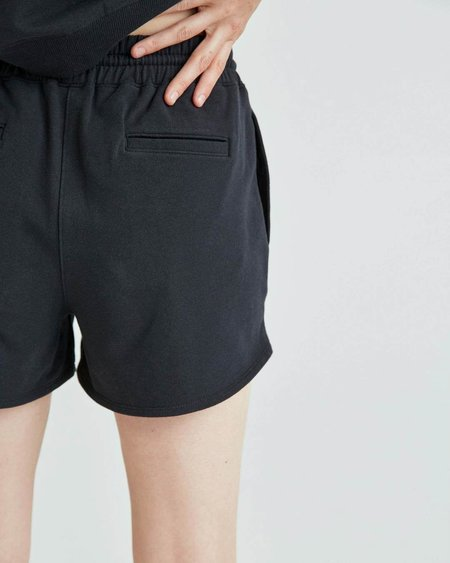 Richer Poorer Stretch Women's Terry Sweatshort - Limo