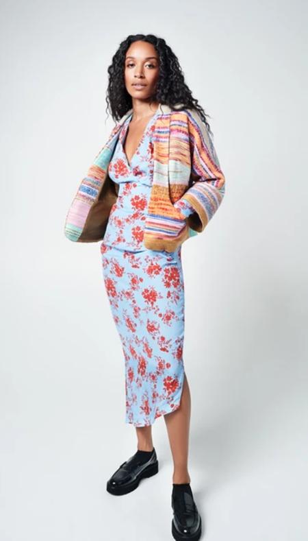 Smythe Mini Baja Jacket - Muti Stripe Jacquard