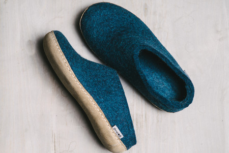 koan nyc danish wool slippers
