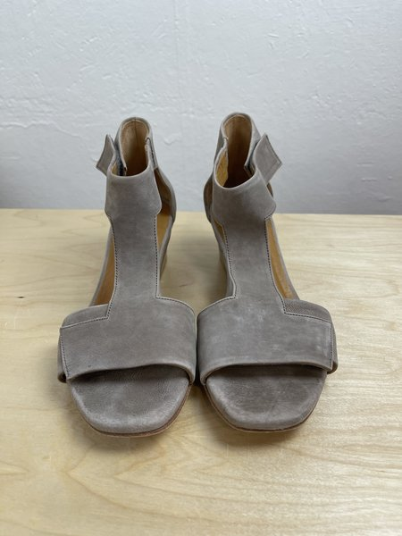 [pre-loved] Coclico T-Strap Sandals - Tan