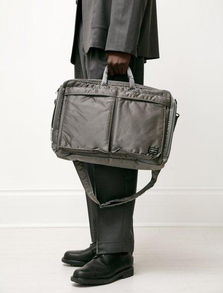 Porter Tanker 2Way Briefcase - Silver