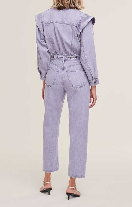 AGOLDE Reyna Jumpsuit - Ashberry