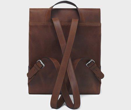 Park Bags BP05 BACKPACK - DARK BROWN