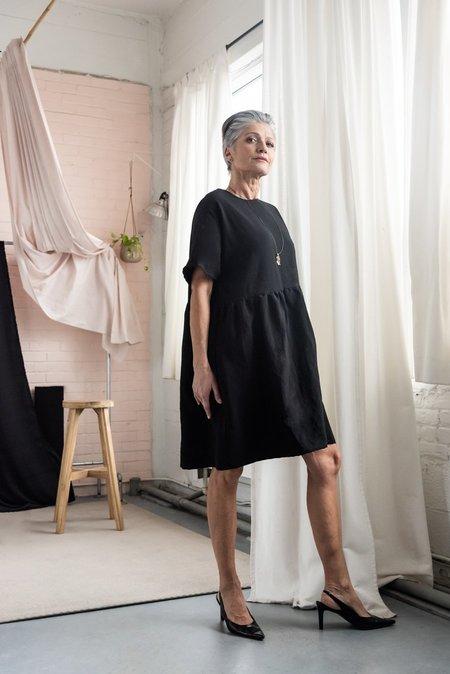 MAS MONTREAL SS21 MALAGA DRESS - BLACK