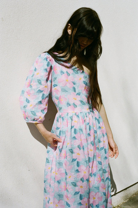 TACH CLOTHING Lianor One Shoulder Dress - Floral