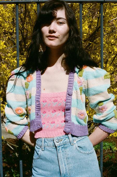 TACH CLOTHING Nicola Cardigan - Floral