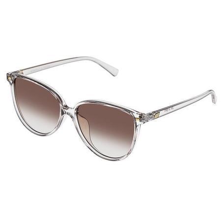 Le Specs Eternally Sunglasses - Clear Shadow