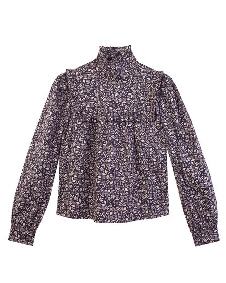 Meadows Heather Top - Japanese Ditsy