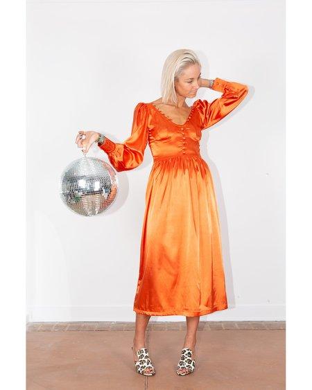 Tach Clothing Nadine Dress - Orange