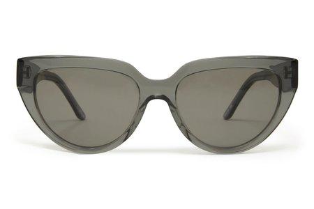 CARLA COLOUR Stella Satellite Sunglasses - Ash