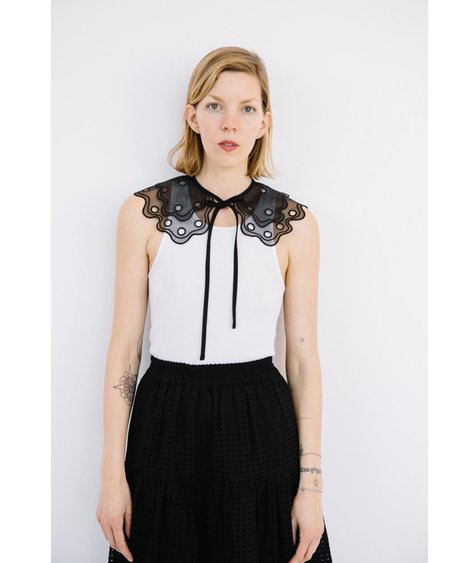 Just Female Waterloo Collar - Black