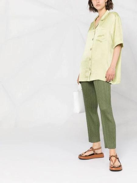 Pleats Please by Issey MiyakeStraight Pant - Green
