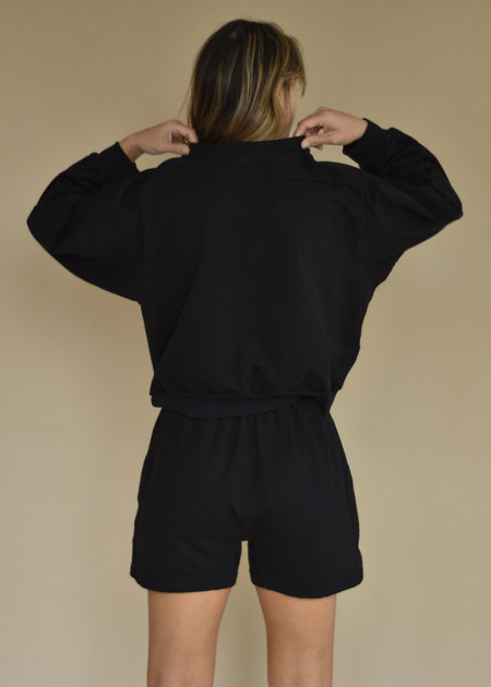 Local Shade Easy Summer Sweatshirt - Black