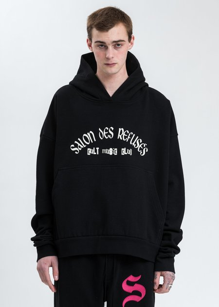 Salon Des Refuses Cult Music Club Hoodie - Black